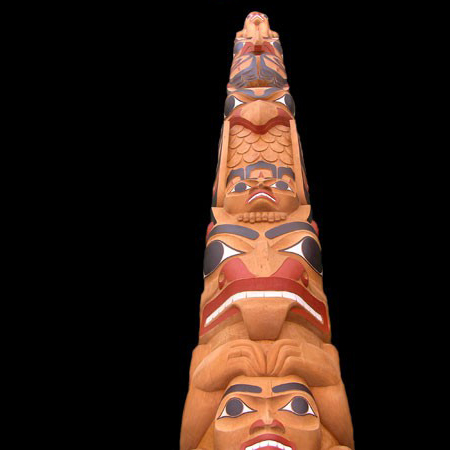 30ft Damian Hirst Totem Pole