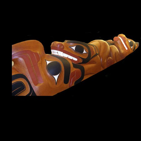 35ft Terry White Totem Pole